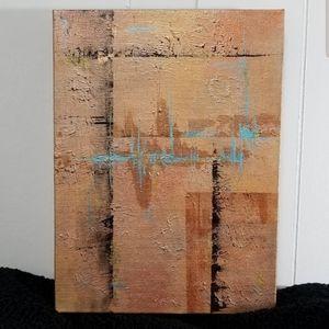 Original Abstract Acrylic Painting 'Pulse'
